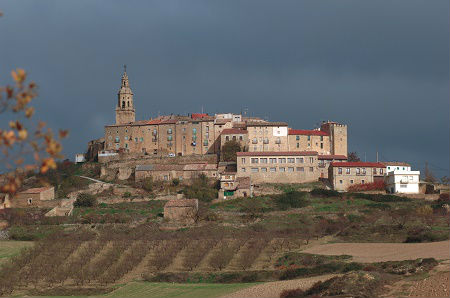 Atardecer el Rioja Alvesa
