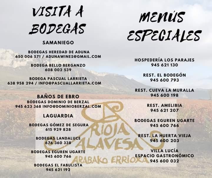 Rioja Alavesa Próximos Eventos